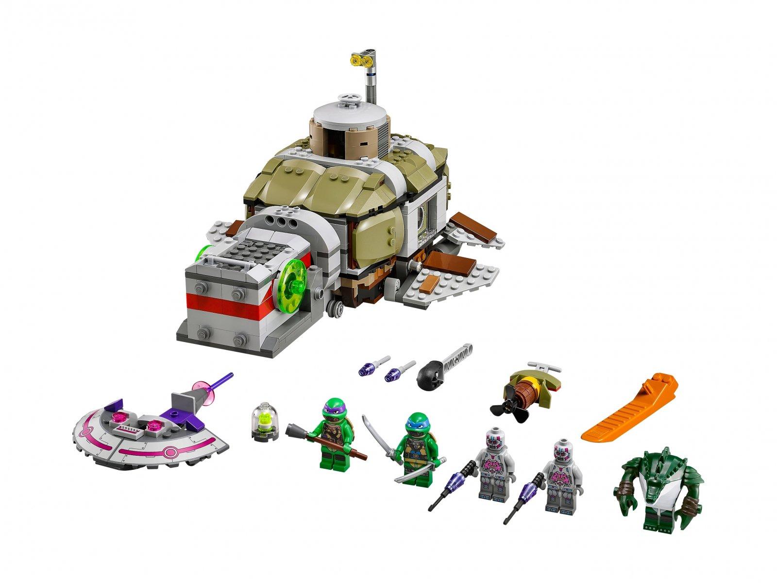 LEGO 79121 Teenage Mutant Ninja Turtles™ Pościg łodzią podwodną