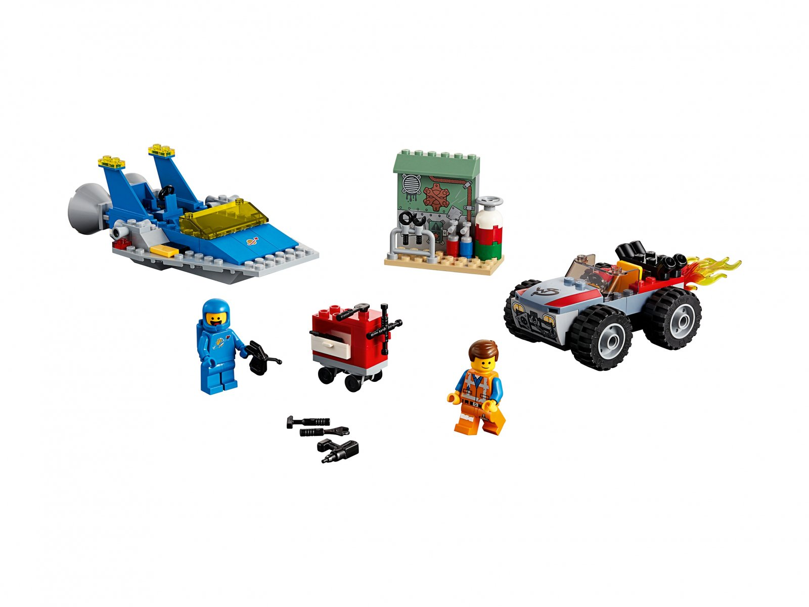 LEGO 70821 THE LEGO® MOVIE 2™ Warsztat Emmeta i Benka