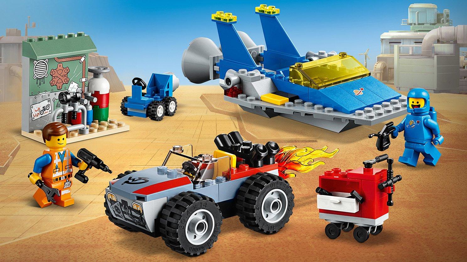 LEGO THE LEGO® MOVIE 2™ Warsztat Emmeta i Benka