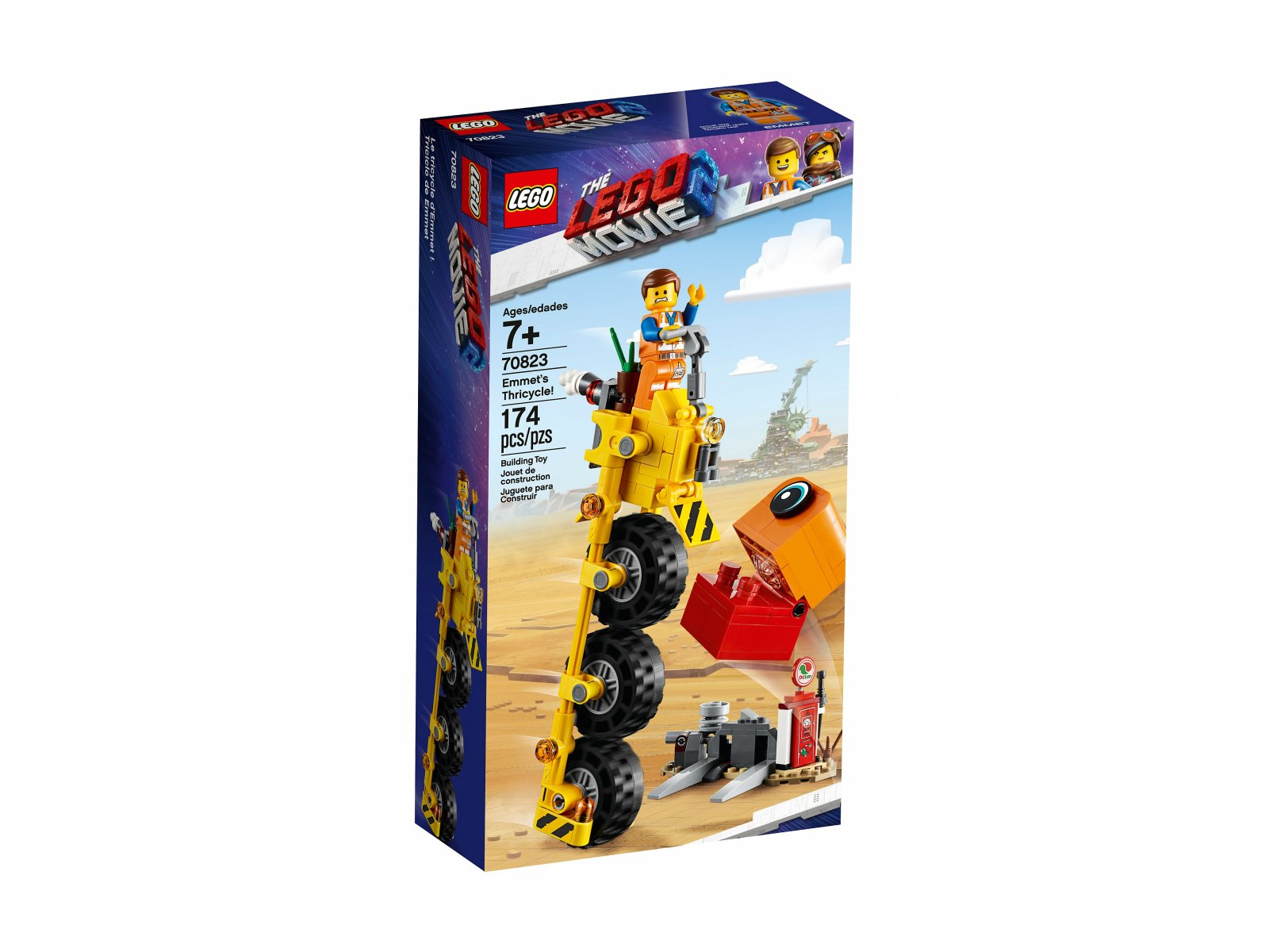 LEGO THE LEGO® MOVIE 2™ 70823 Trójkołowiec Emmeta