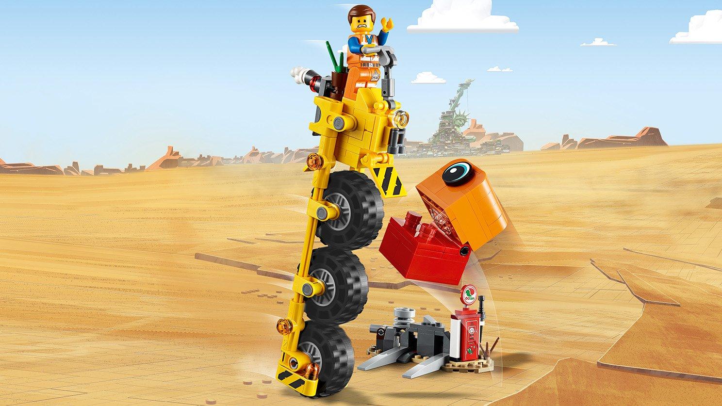 LEGO 70823 THE LEGO® MOVIE 2™ Trójkołowiec Emmeta