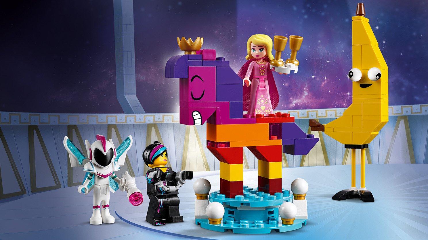 LEGO THE LEGO® MOVIE 2™ 70824 Królowa Wisimi I'powiewa