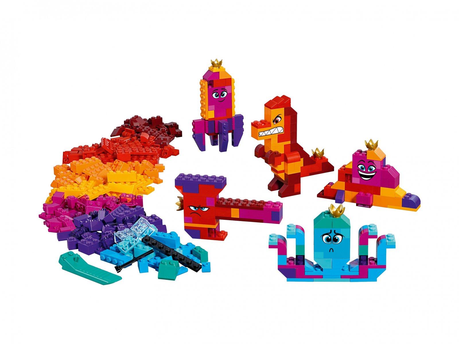 LEGO THE LEGO® MOVIE 2™ Pudełko konstruktora Królowej Wisimi!