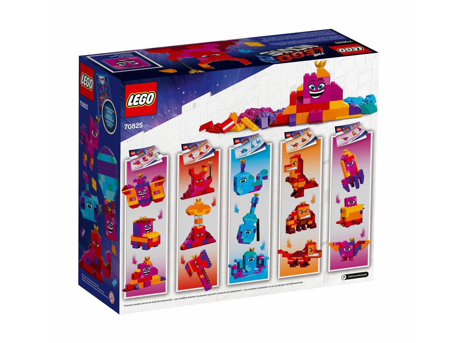 LEGO THE LEGO® MOVIE 2™ 70825 Pudełko konstruktora Królowej Wisimi!