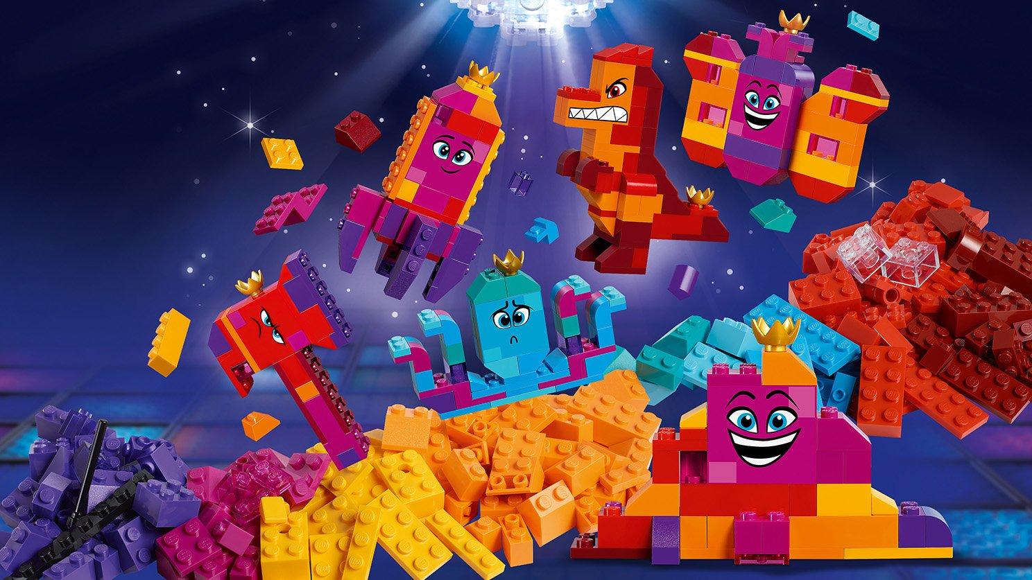 LEGO 70825 THE LEGO® MOVIE 2™ Pudełko konstruktora Królowej Wisimi!