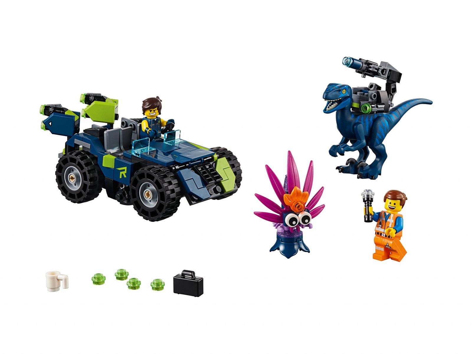 LEGO THE LEGO® MOVIE 2™ 70826 Terenówka Rexa