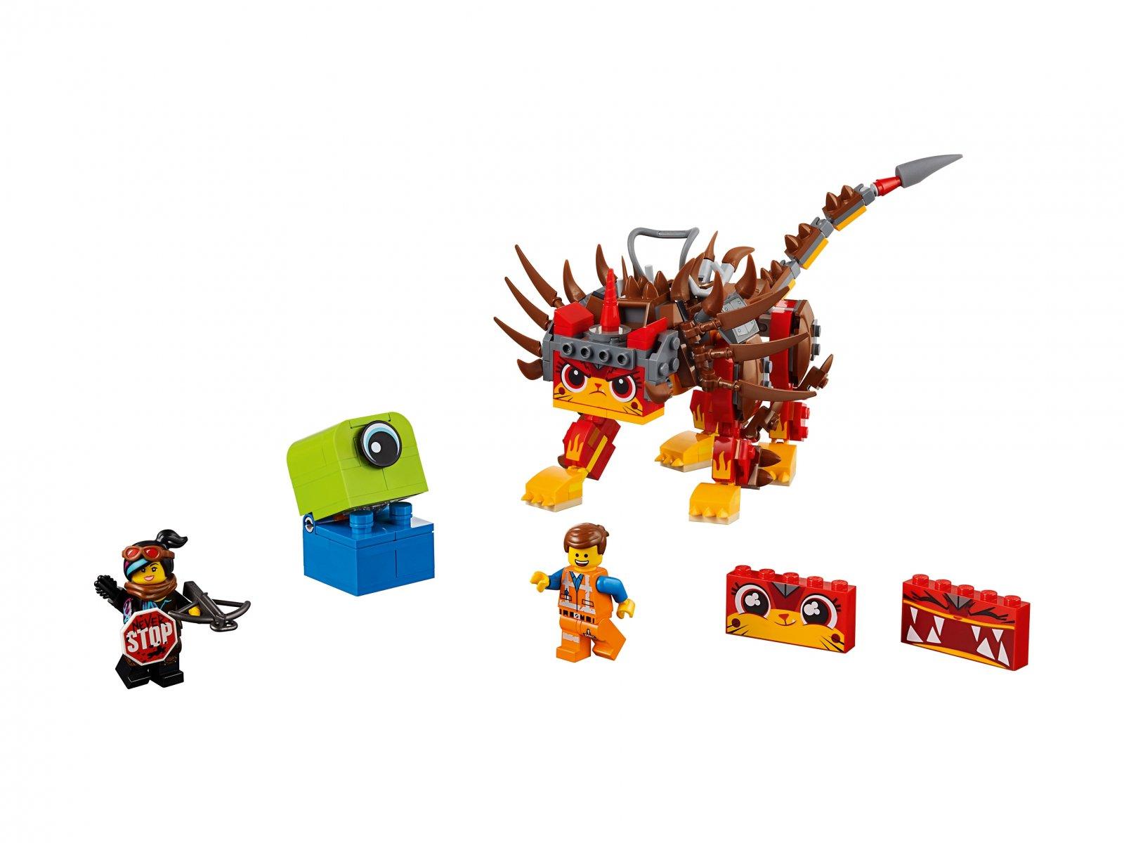 LEGO 70827 THE LEGO® MOVIE 2™ UltraKocia i Lucy Wojowniczka