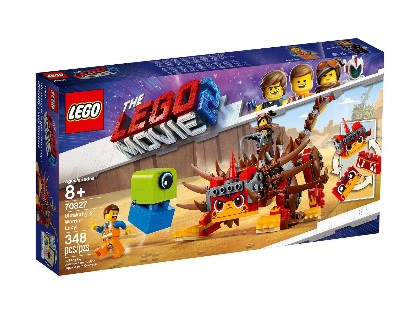 LEGO 70827 UltraKocia i Lucy Wojowniczka