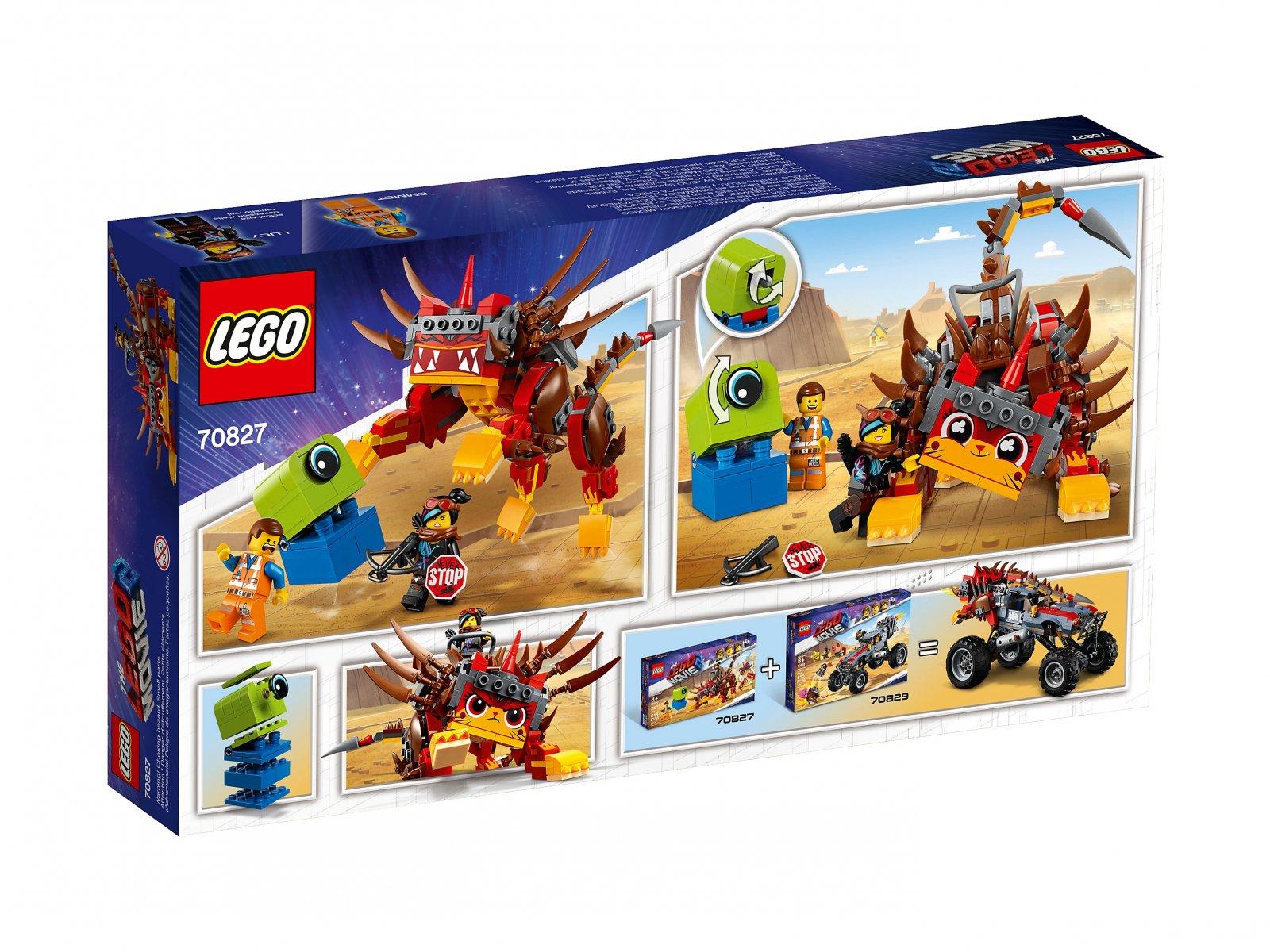 LEGO THE LEGO® MOVIE 2™ UltraKocia i Lucy Wojowniczka 70827