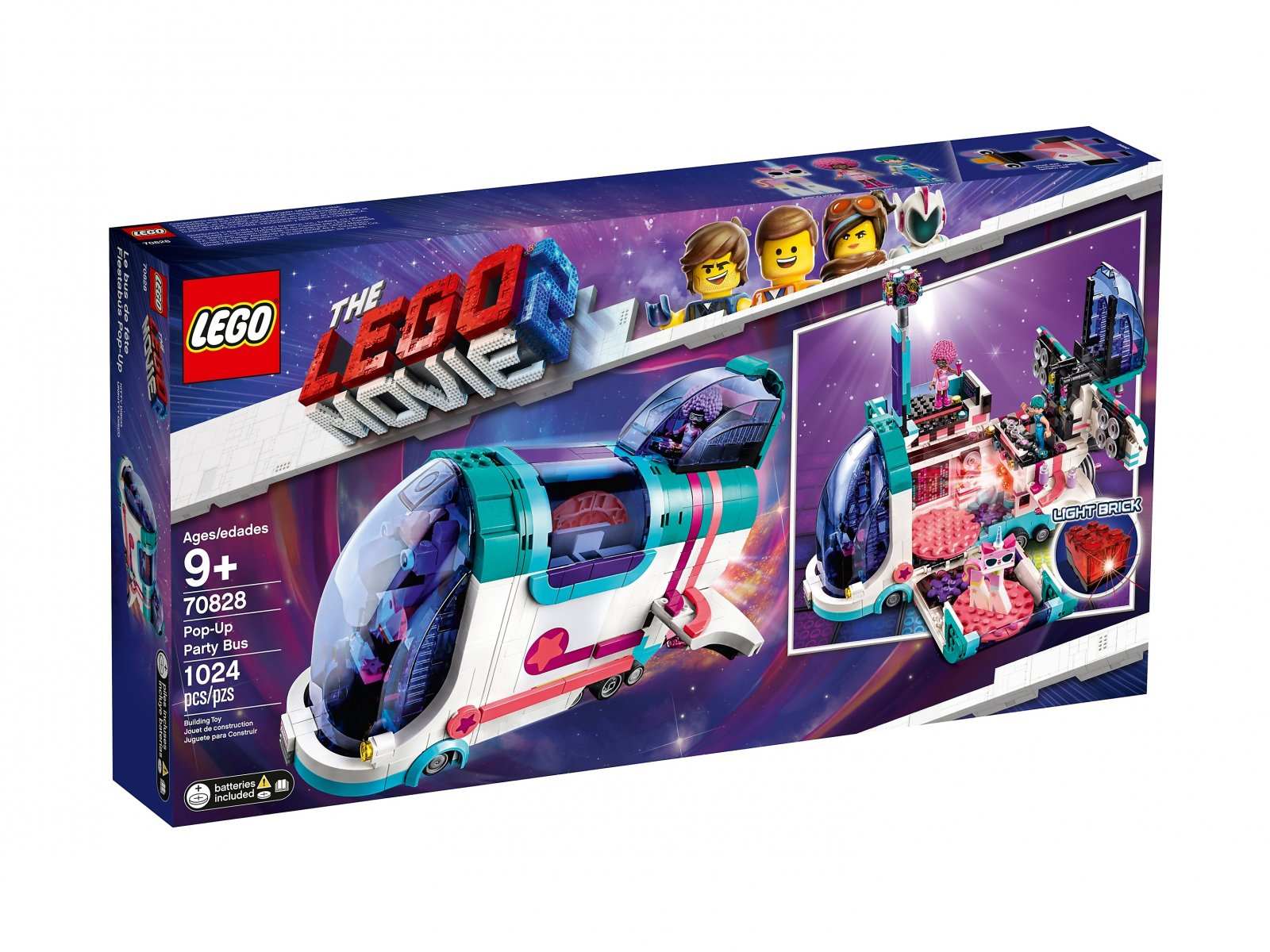 LEGO 70828 THE LEGO® MOVIE 2™ Autobus imprezowy
