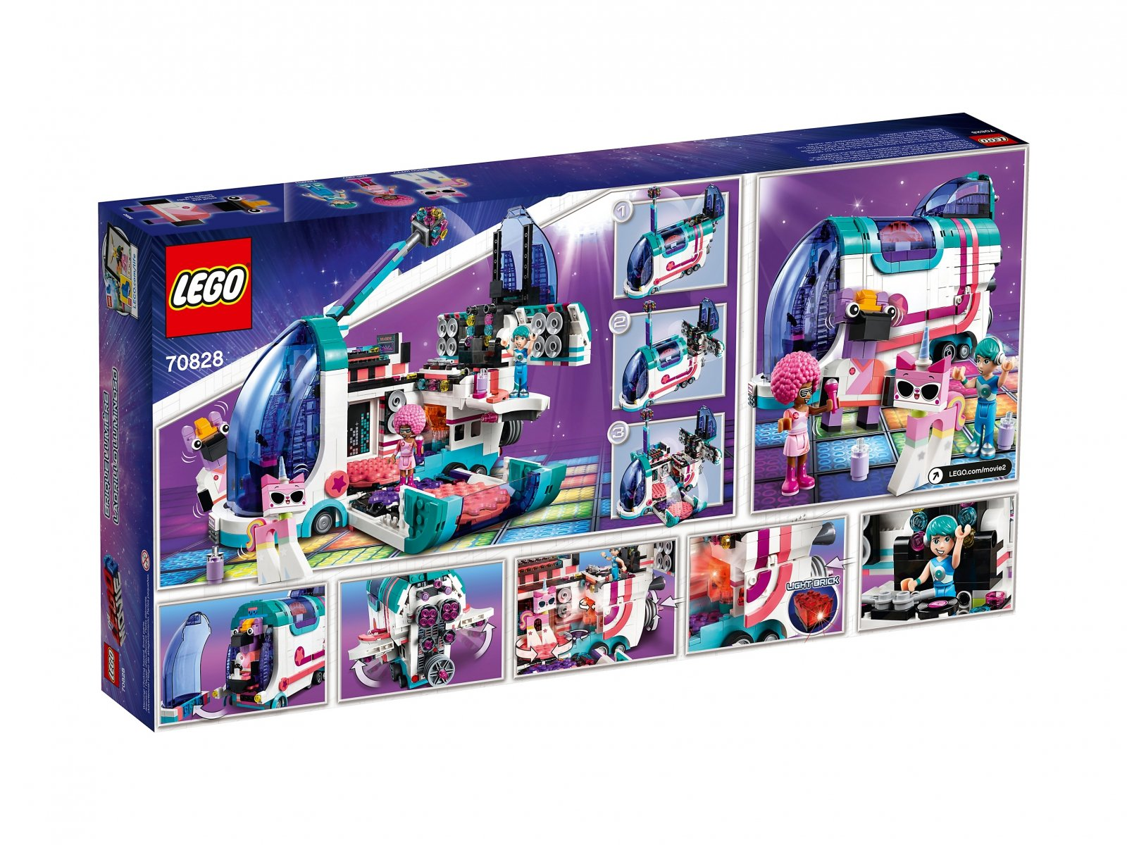 LEGO THE LEGO® MOVIE 2™ Autobus imprezowy