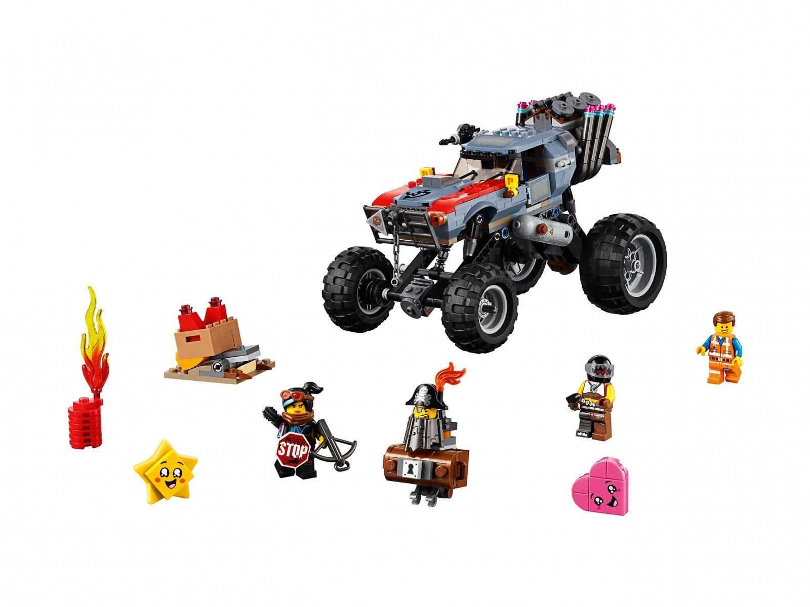 LEGO 70829 THE LEGO® MOVIE 2™ Łazik Emmeta i Lucy
