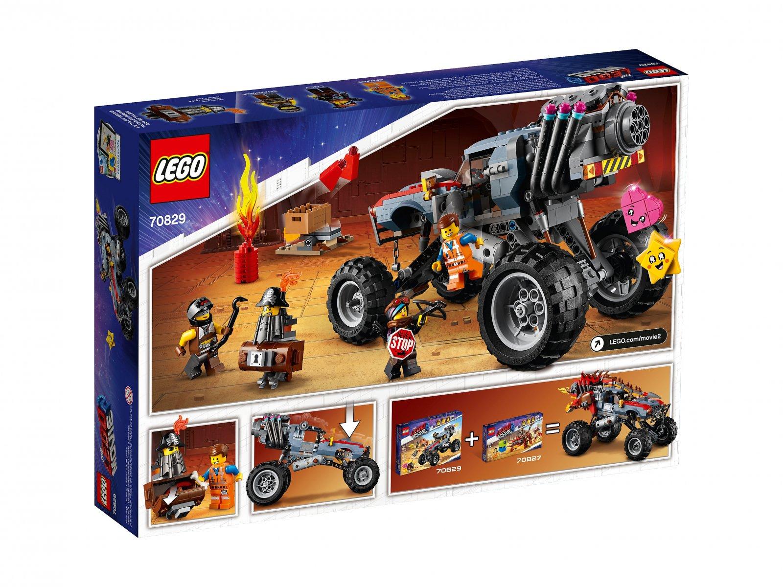 LEGO THE LEGO® MOVIE 2™ Łazik Emmeta i Lucy