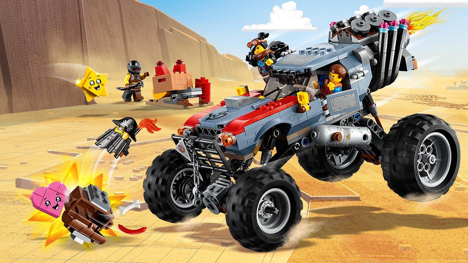 LEGO THE LEGO® MOVIE 2™ Łazik Emmeta i Lucy 70829