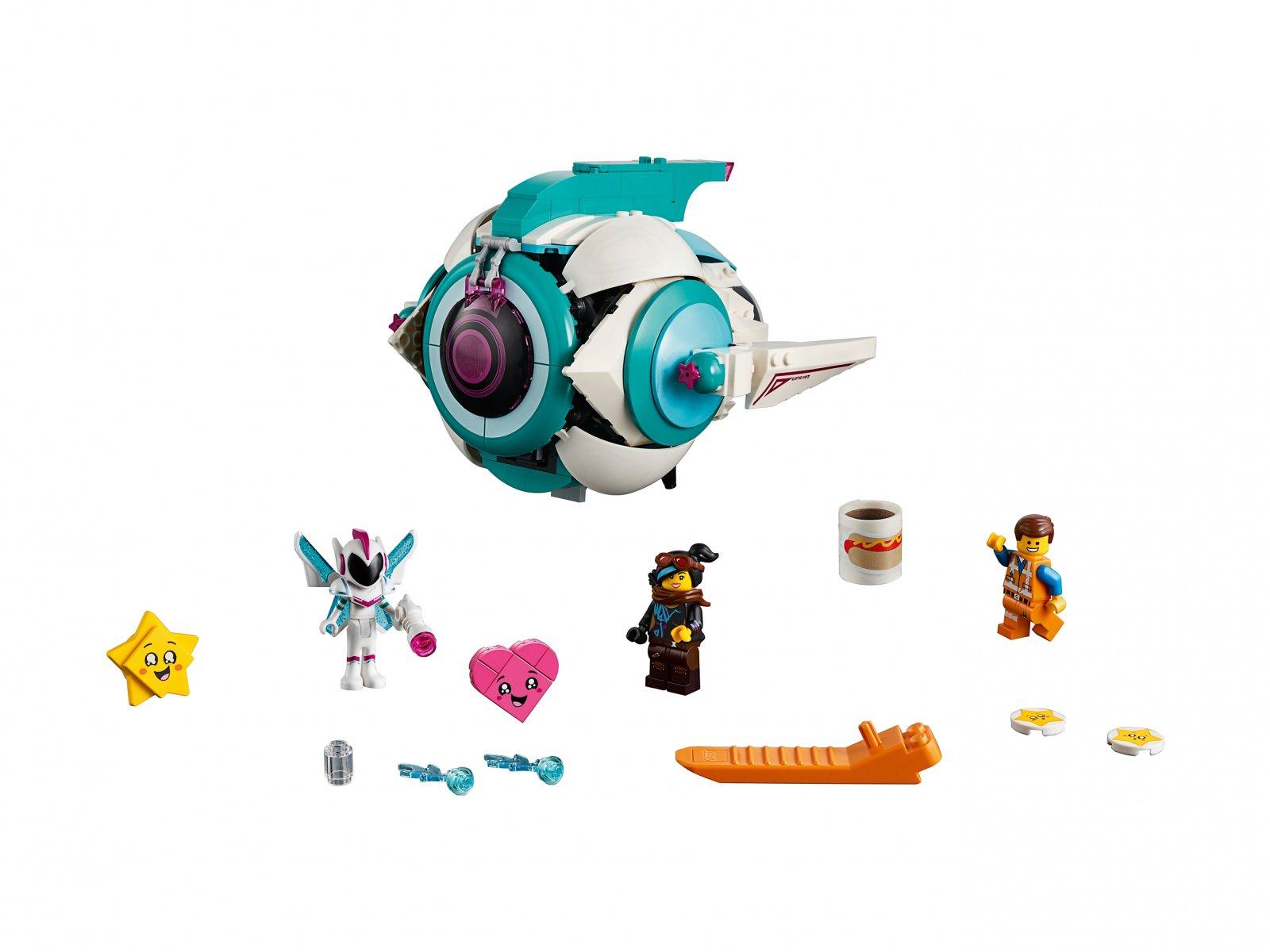 LEGO 70830 THE LEGO® MOVIE 2™ Gwiezdny statek Słodkiej Zadymy