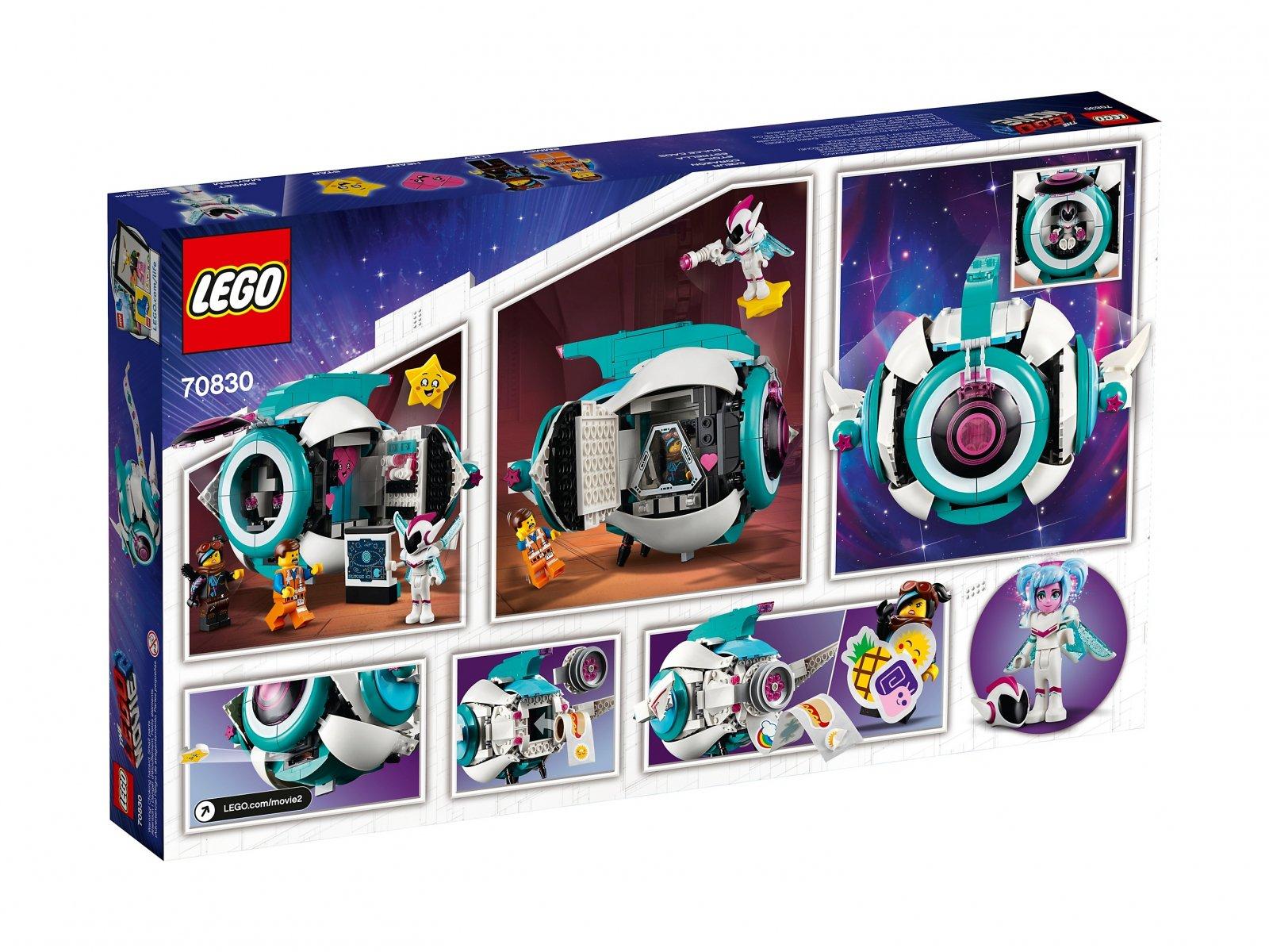 LEGO THE LEGO® MOVIE 2™ Gwiezdny statek Słodkiej Zadymy