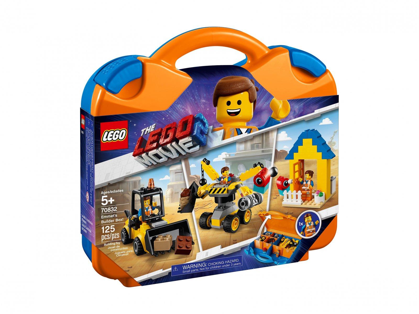 LEGO 70832 Zestaw konstrukcyjny Emmeta