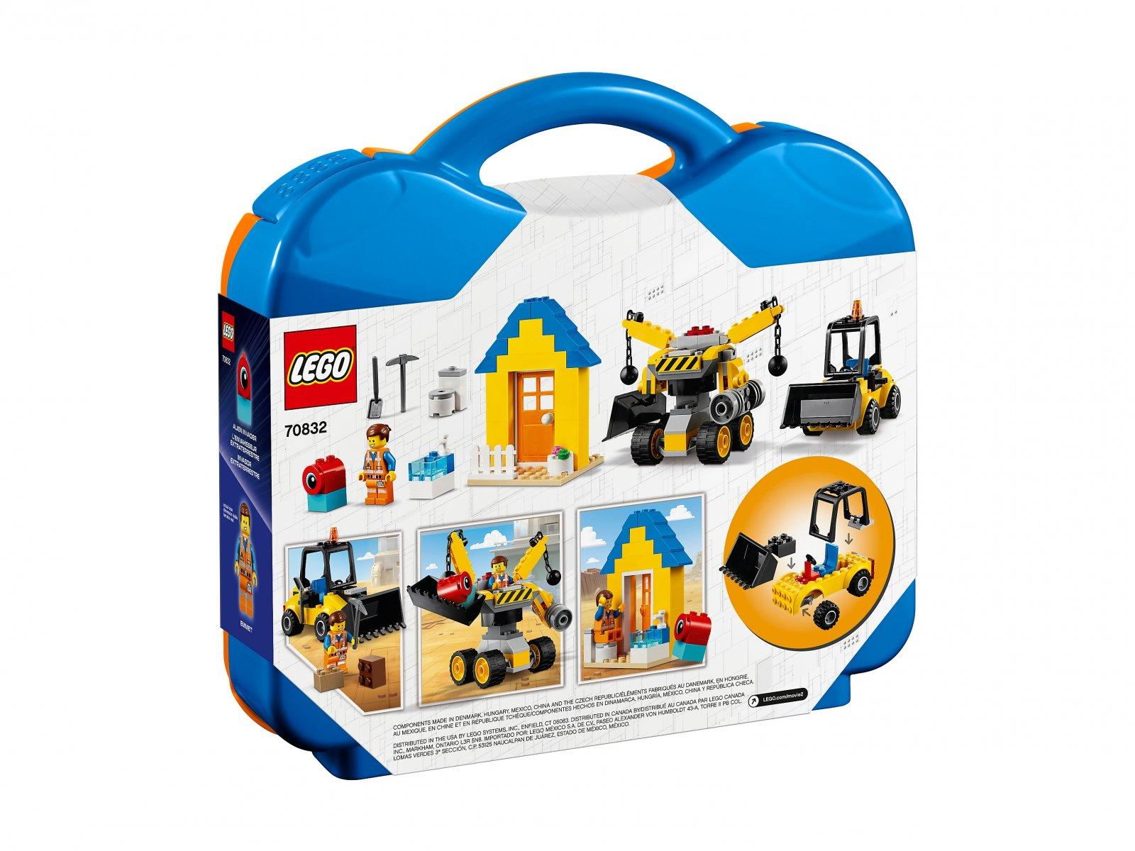LEGO THE LEGO® MOVIE 2™ Zestaw konstrukcyjny Emmeta