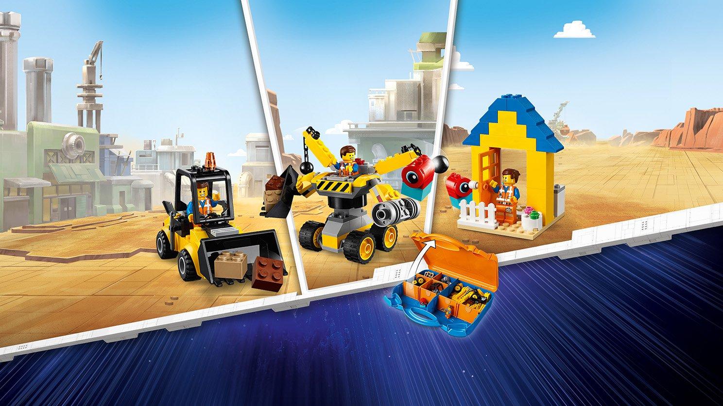 LEGO THE LEGO® MOVIE 2™ 70832 Zestaw konstrukcyjny Emmeta