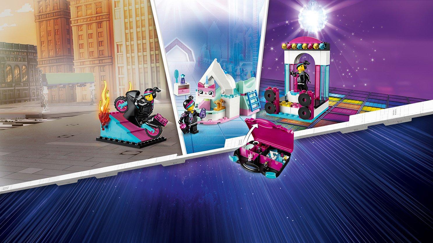 LEGO THE LEGO® MOVIE 2™ 70833 Zestaw konstrukcyjny Lucy