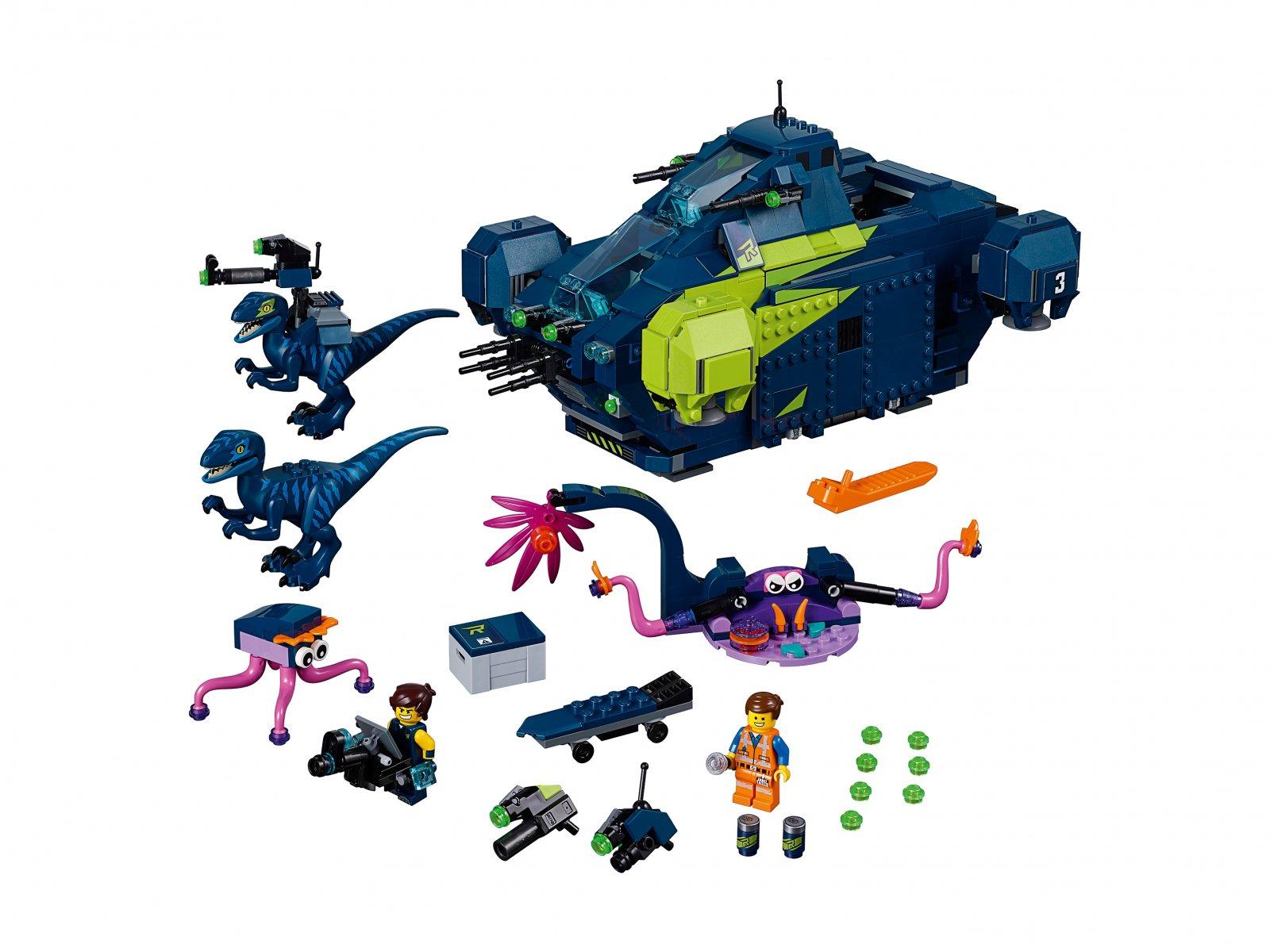 LEGO THE LEGO® MOVIE 2™ 70835 Rexplorer Rexa!