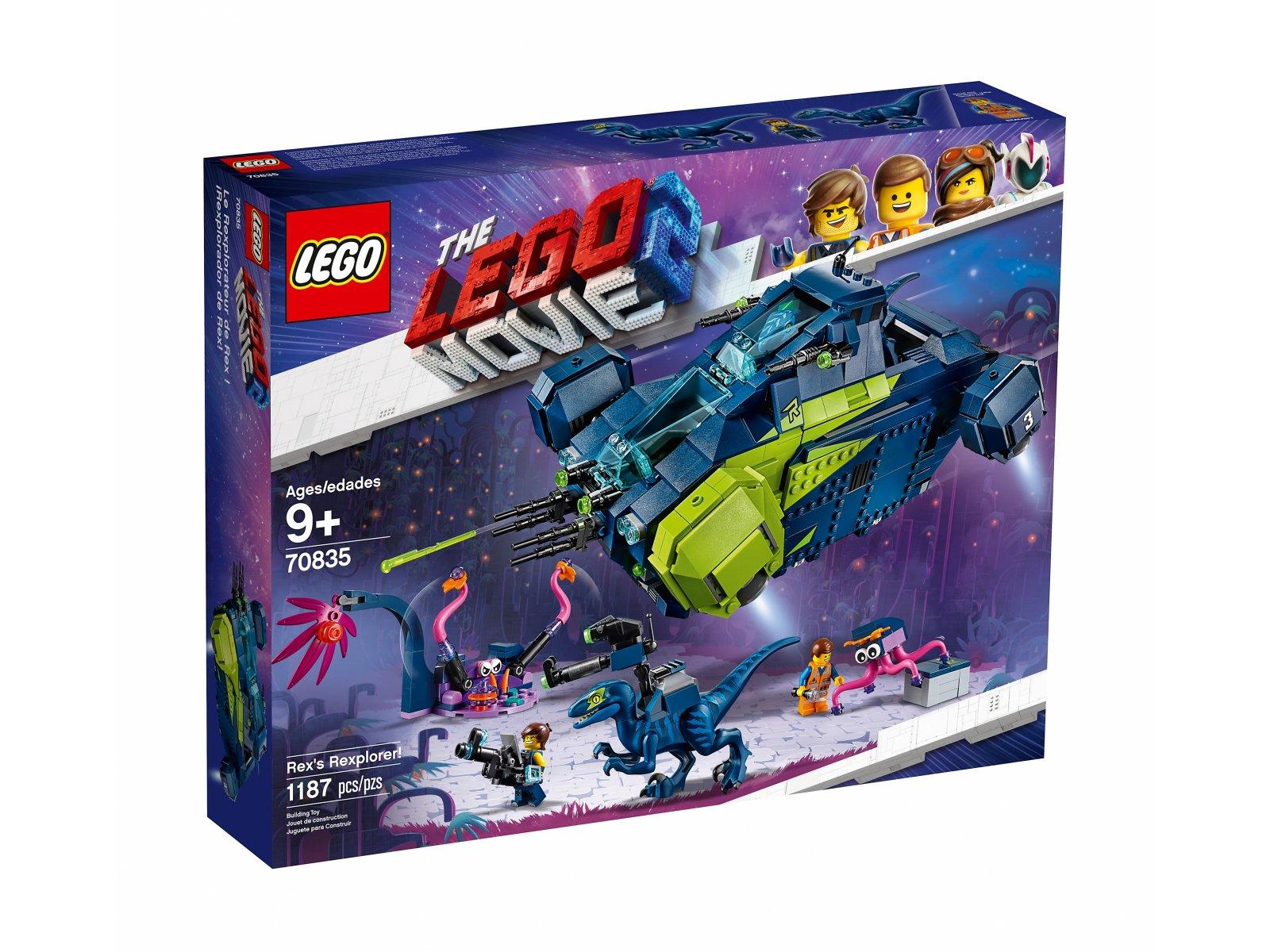 LEGO 70835 THE LEGO® MOVIE 2™ Rexplorer Rexa!