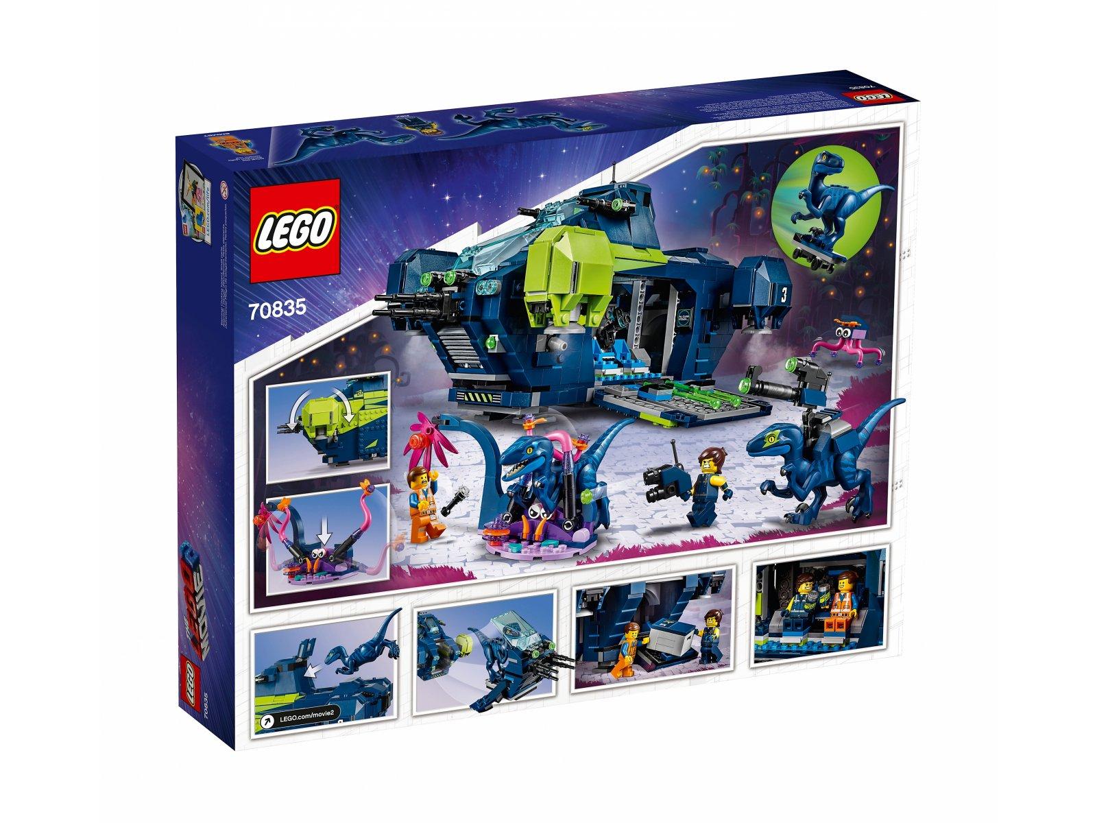 LEGO 70835 Rexplorer Rexa!