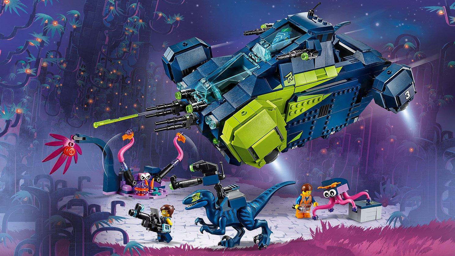 LEGO THE LEGO® MOVIE 2™ Rexplorer Rexa!