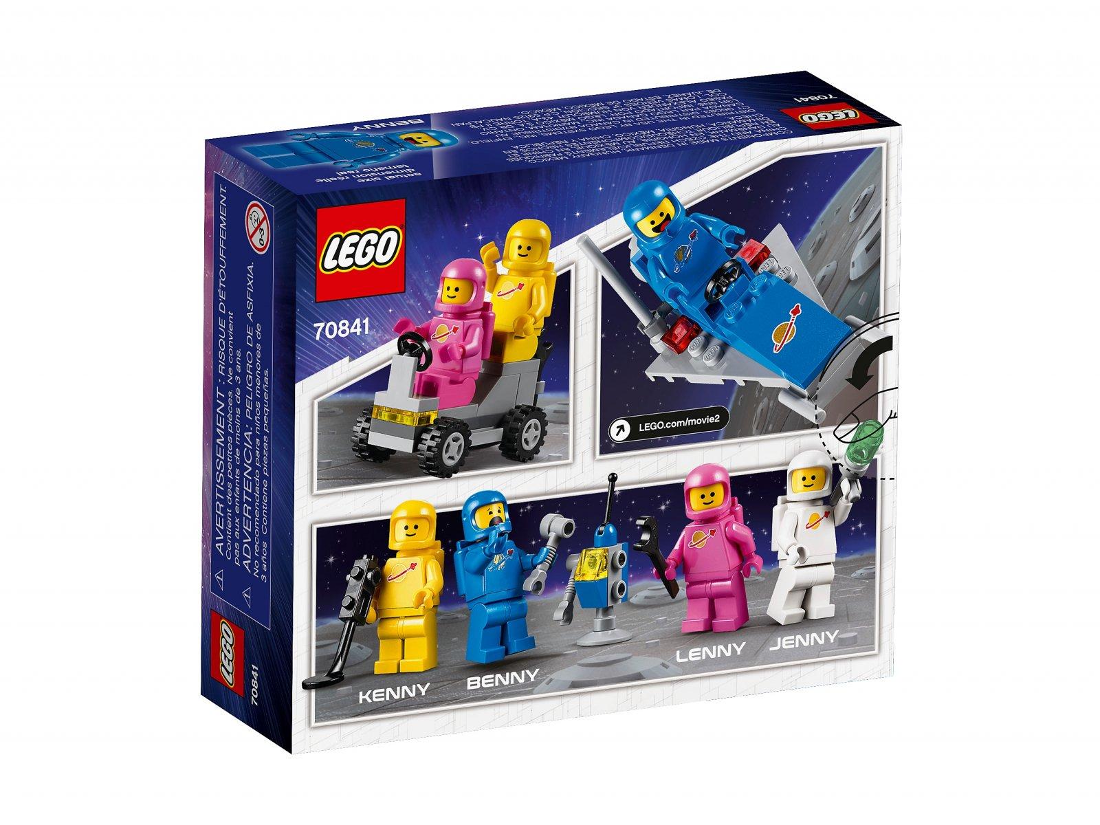 LEGO 70841 THE LEGO® MOVIE 2™ Kosmiczna drużyna Benka