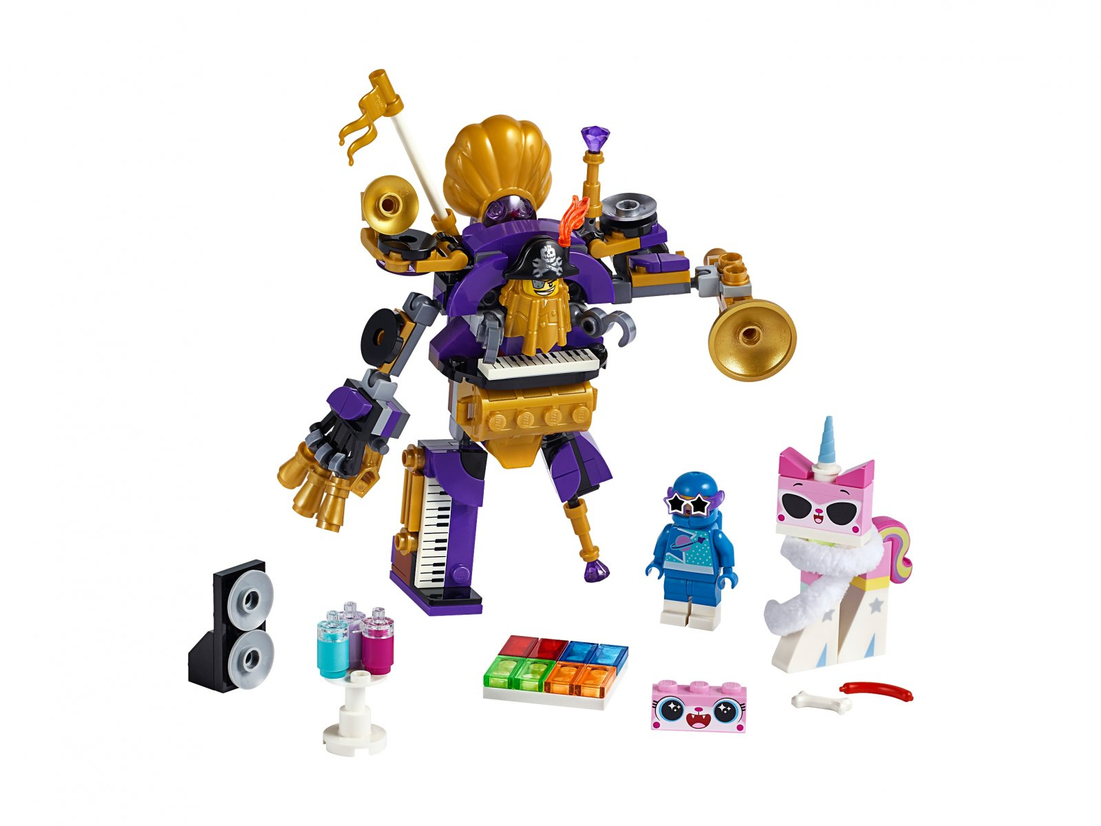 LEGO THE LEGO® MOVIE 2™ Imprezowa ekipa z Siostar 70848