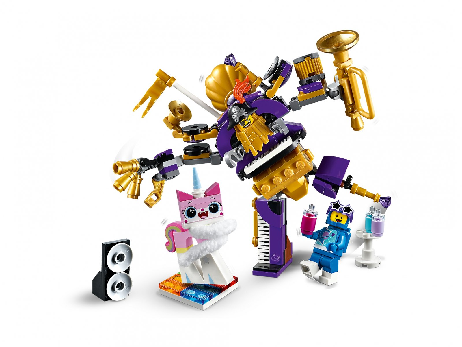 LEGO THE LEGO® MOVIE 2™ 70848 Imprezowa ekipa z Siostar
