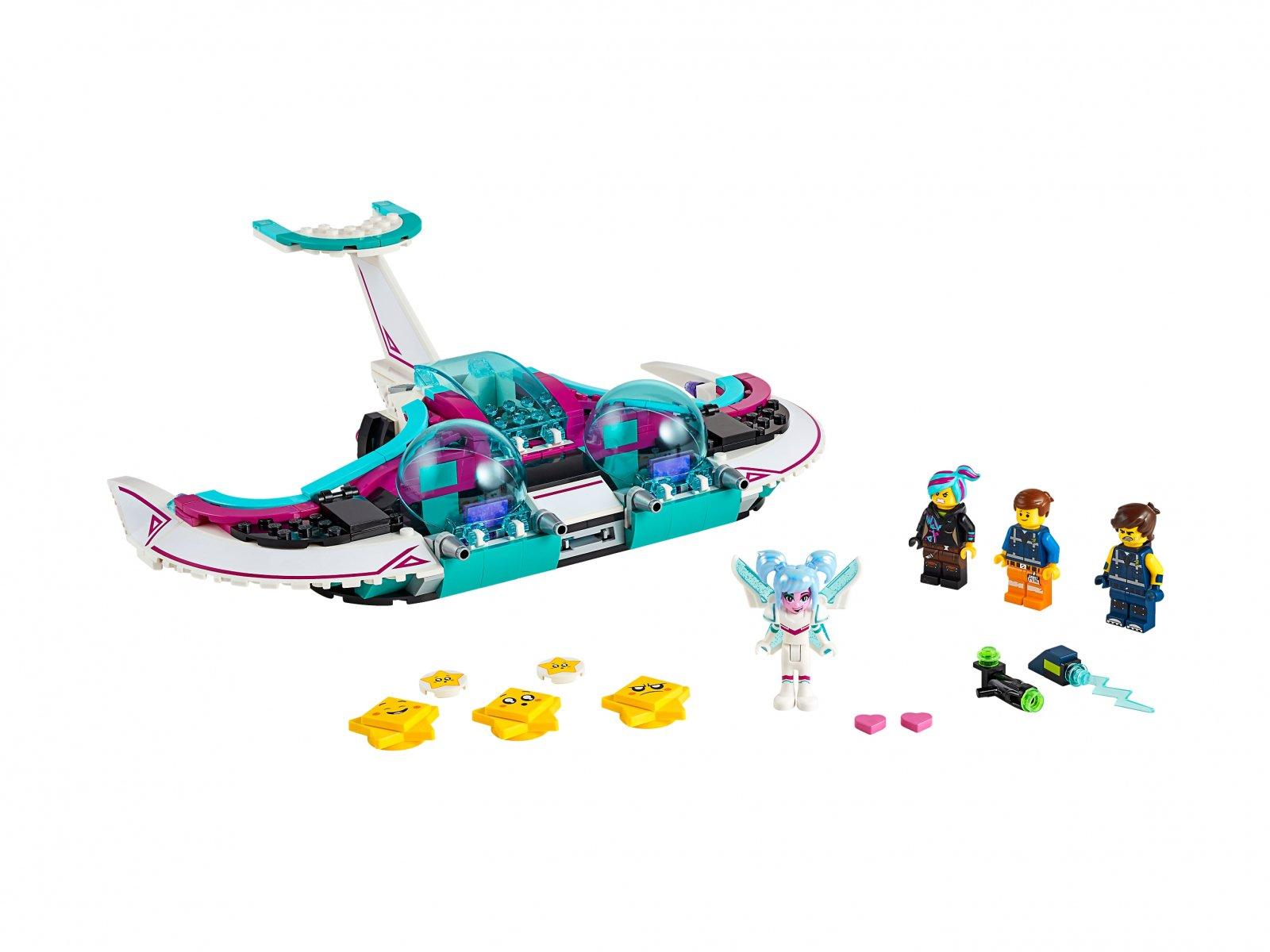 LEGO 70849 THE LEGO® MOVIE 2™ Myśliwiec Słodka Żyleta