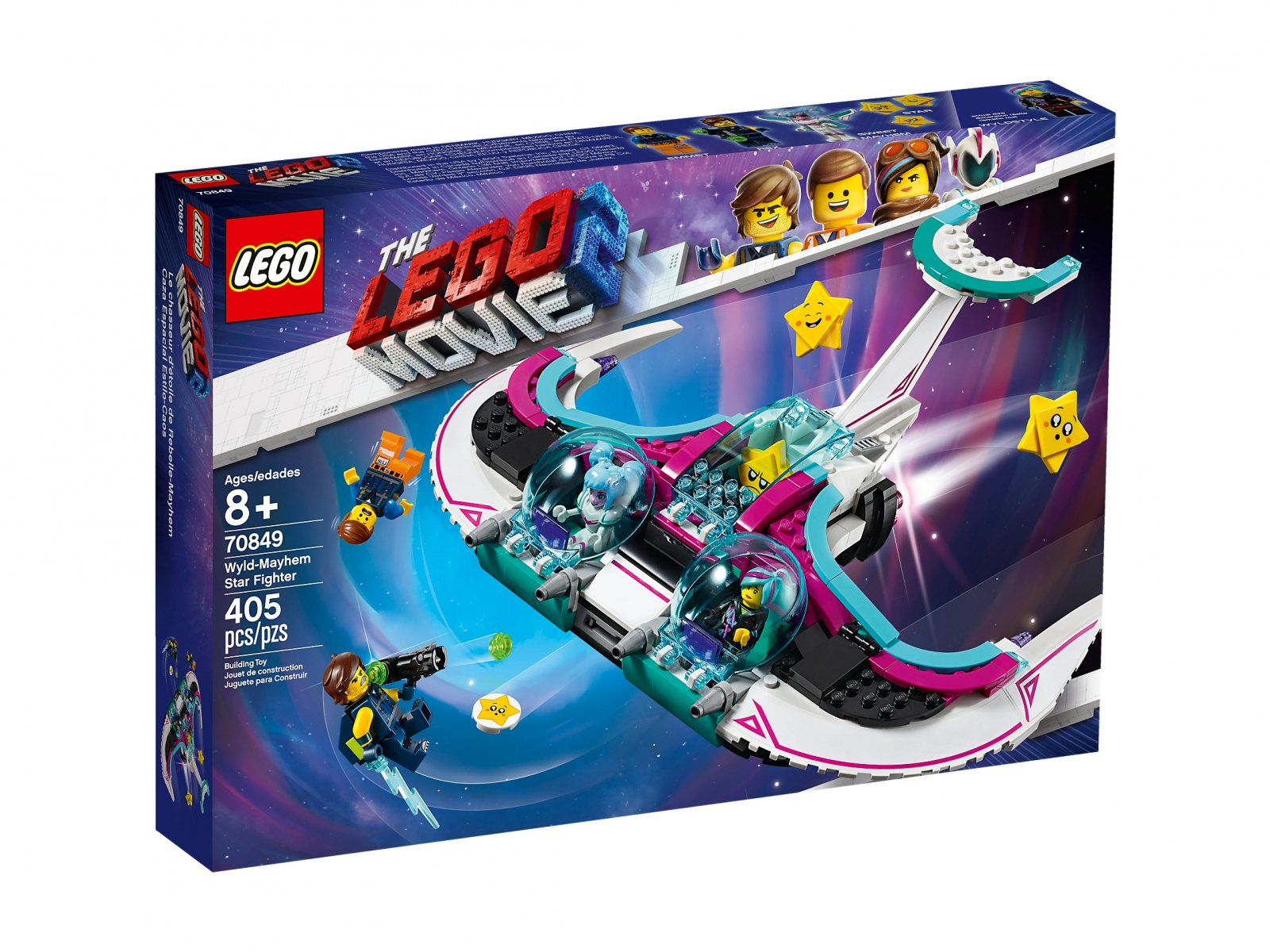 LEGO THE LEGO® MOVIE 2™ 70849 Myśliwiec Słodka Żyleta