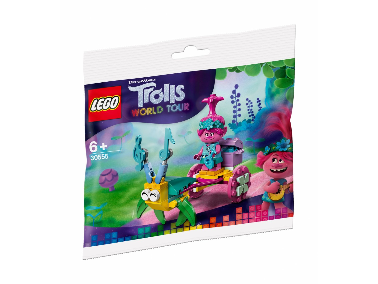 LEGO 30555 Trolls World Tour Powóz Poppy