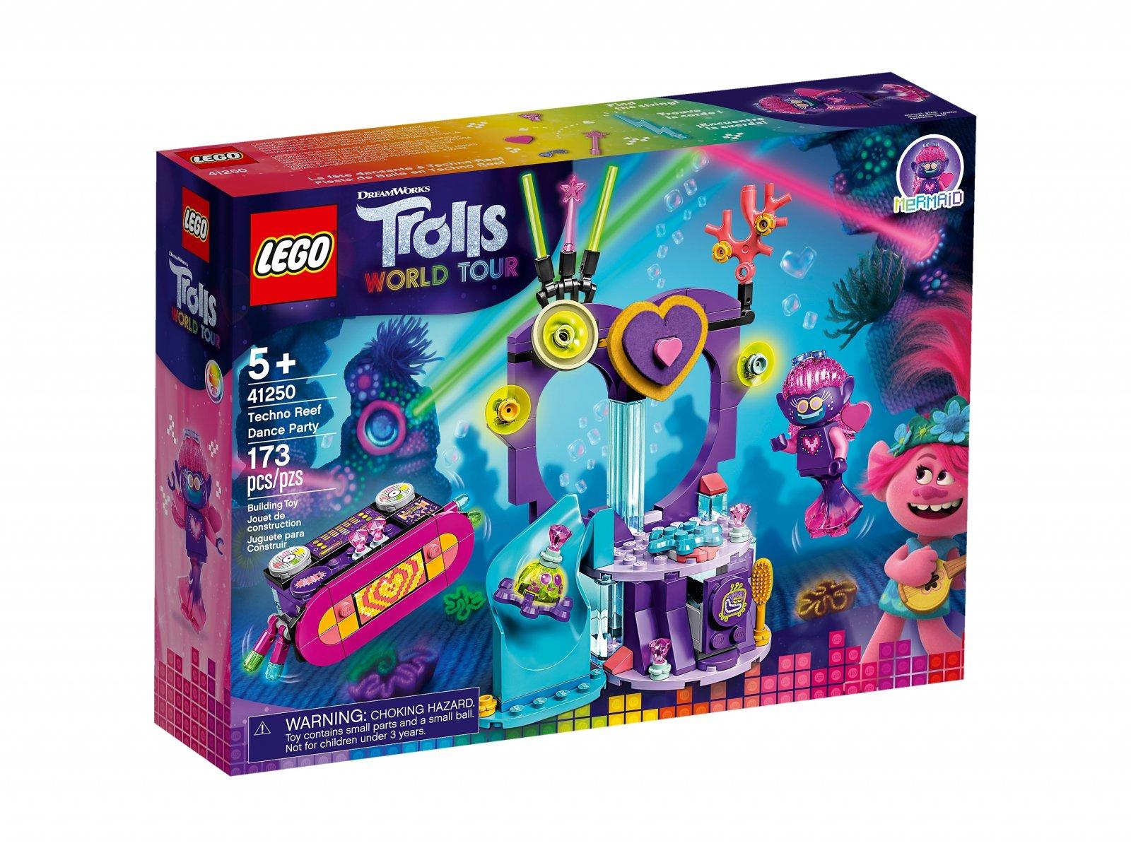 LEGO Trolls World Tour 41250 Impreza techno na rafie