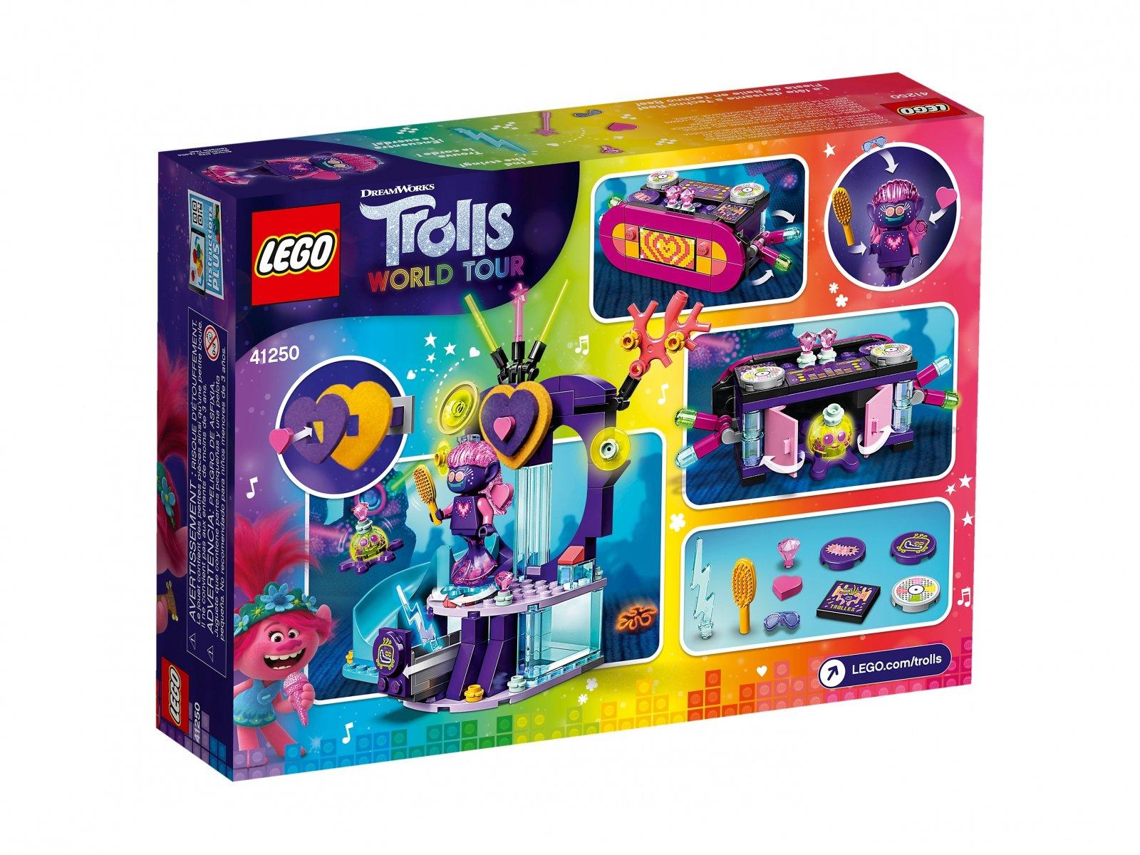 LEGO 41250 Impreza techno na rafie