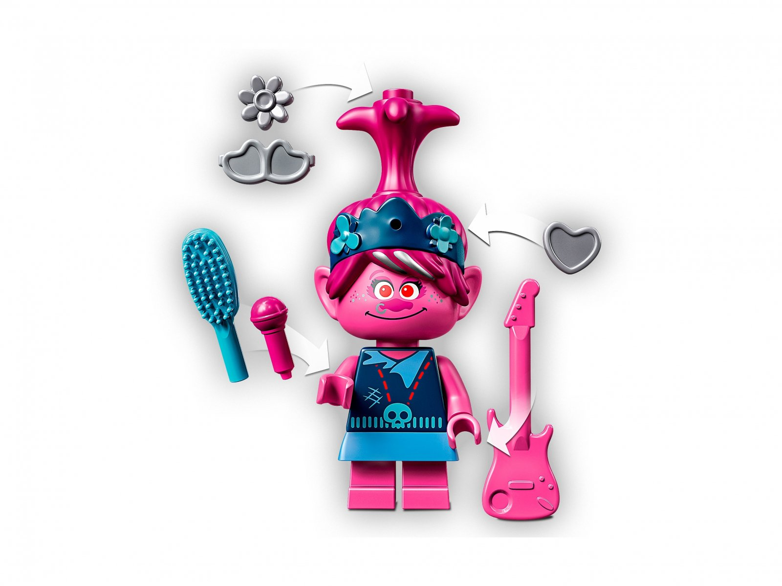 LEGO Trolls World Tour 41254 Koncert w Volcano Rock City