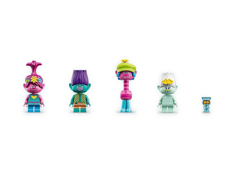 LEGO Trolls World Tour Przyjęcie w popowej wiosce 41255
