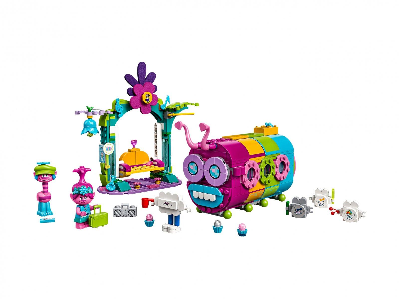 LEGO Trolls World Tour 41256 Tęczowy gąsienicowóz