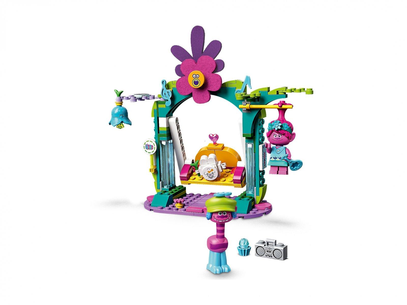 LEGO Trolls World Tour Tęczowy gąsienicowóz 41256