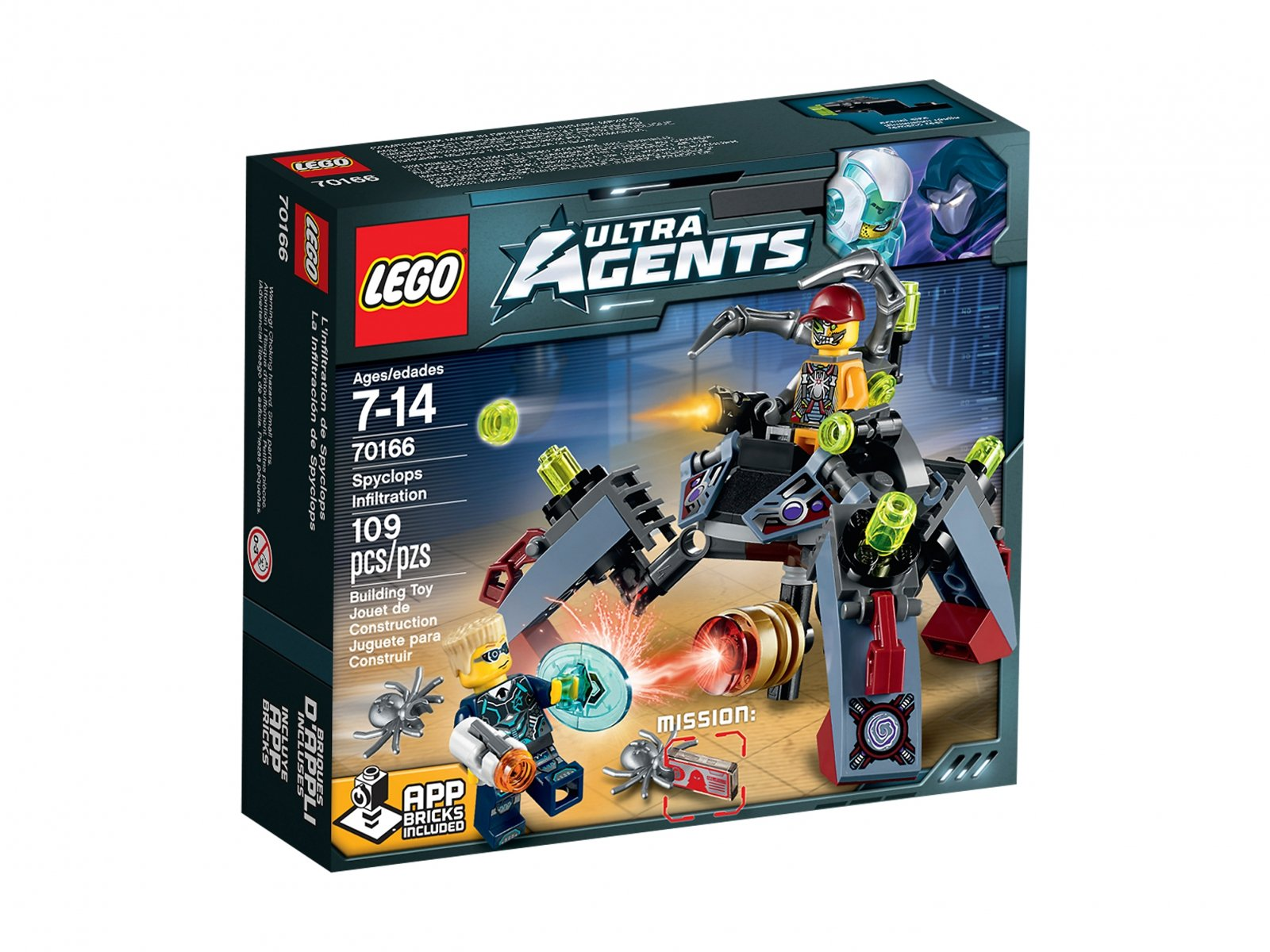 LEGO 70166 Ultra Agents Spyclops Infiltration