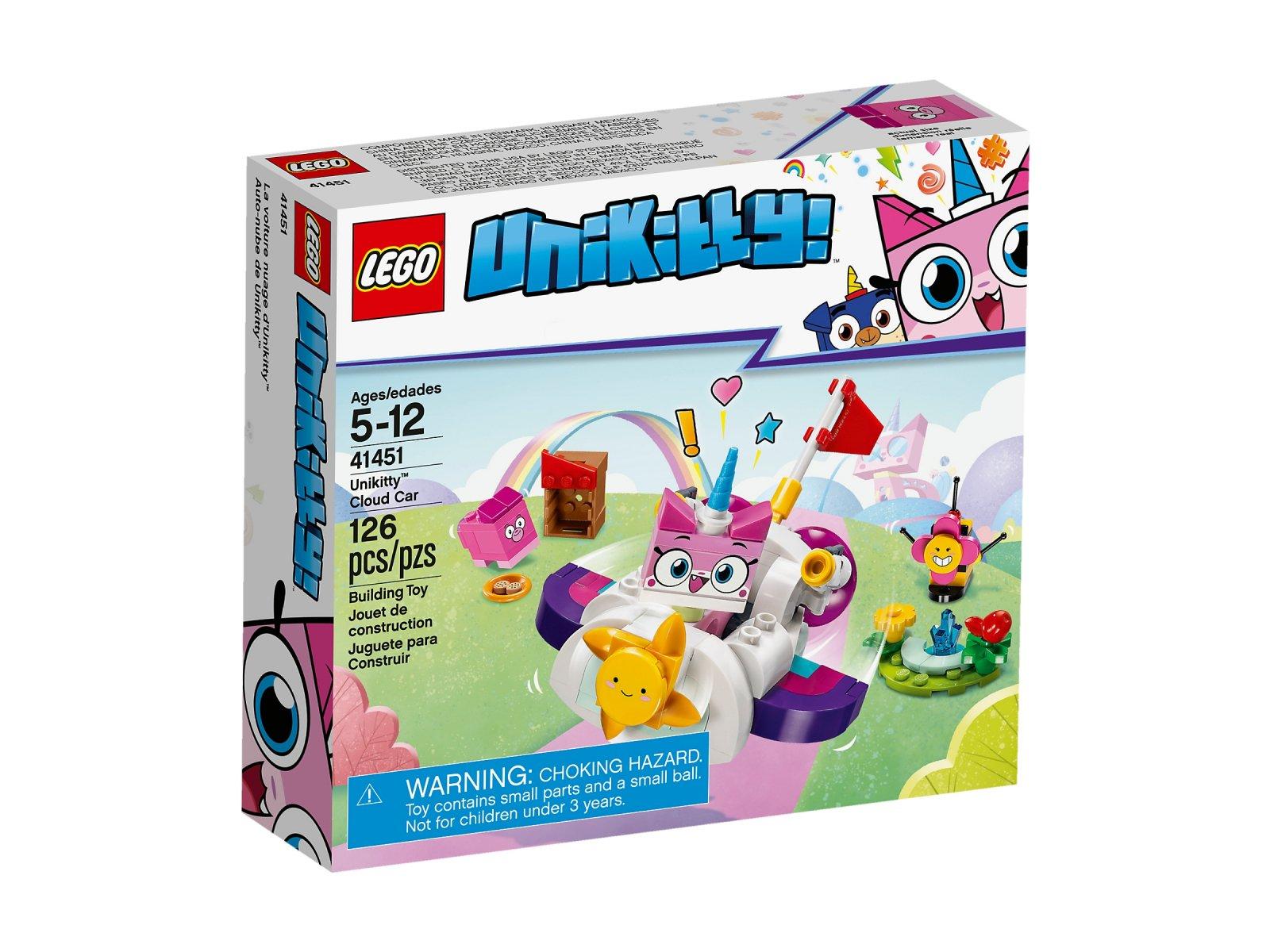 Lego 41451 Unikitty Chmurkowy Pojazd Kici Rożek