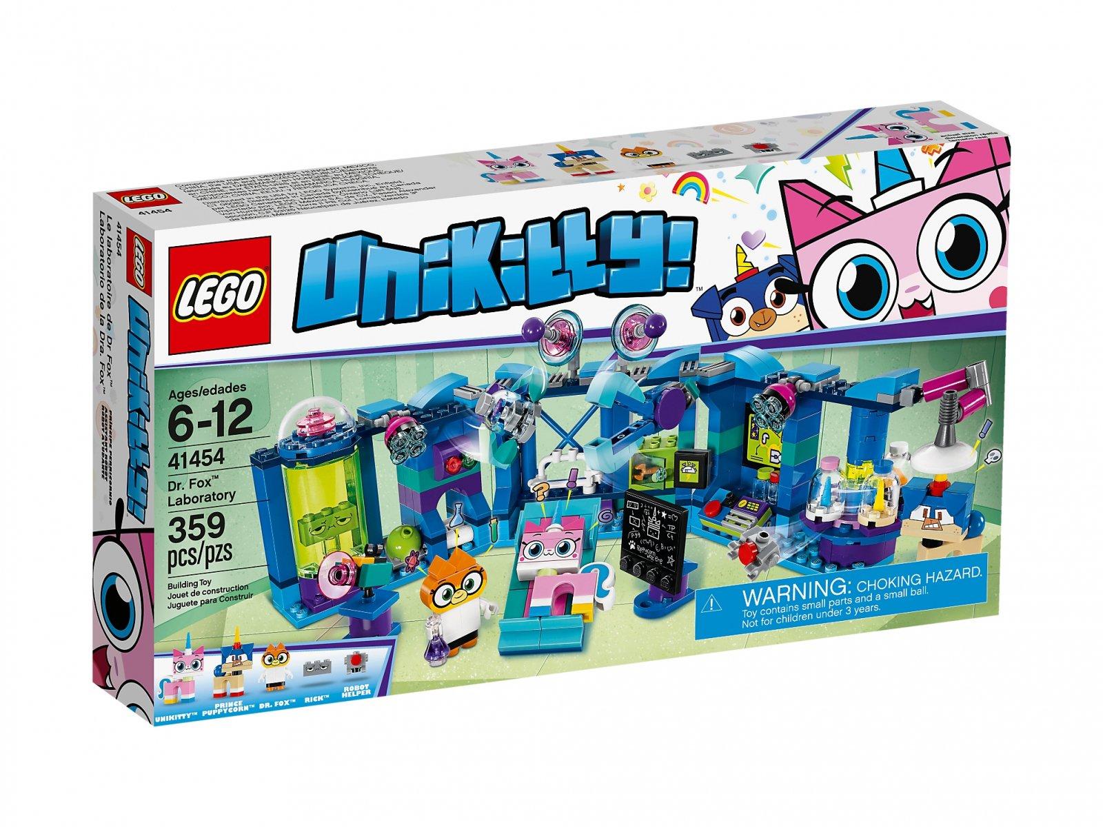 LEGO 41454 Unikitty Laboratorium dr Lisiczki | zklocków.pl