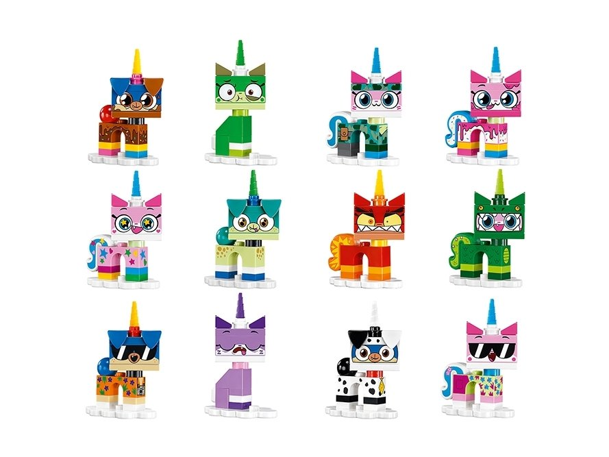 LEGO 41775 Unikitty™ Seria kolekcjonerska Kici Rożek™ 1