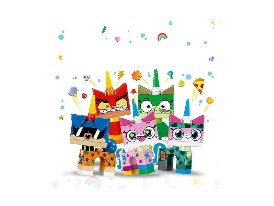 LEGO Unikitty™ 41775 Seria kolekcjonerska Kici Rożek™ 1