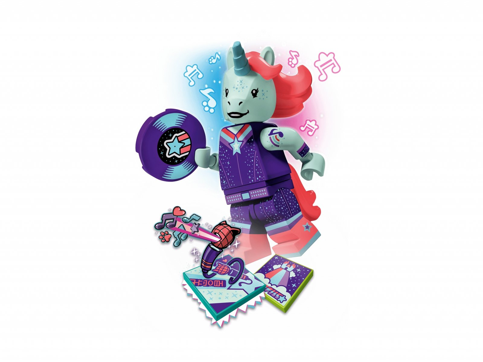 LEGO 43106 Unicorn DJ BeatBox