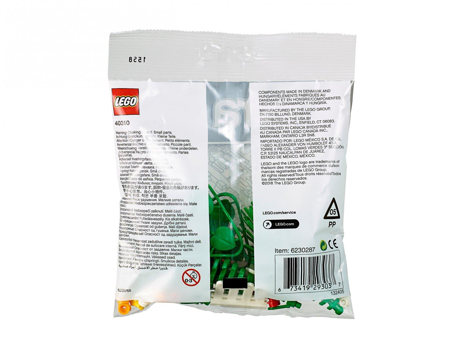 LEGO 40310 xtra Akcesoria botaniczne
