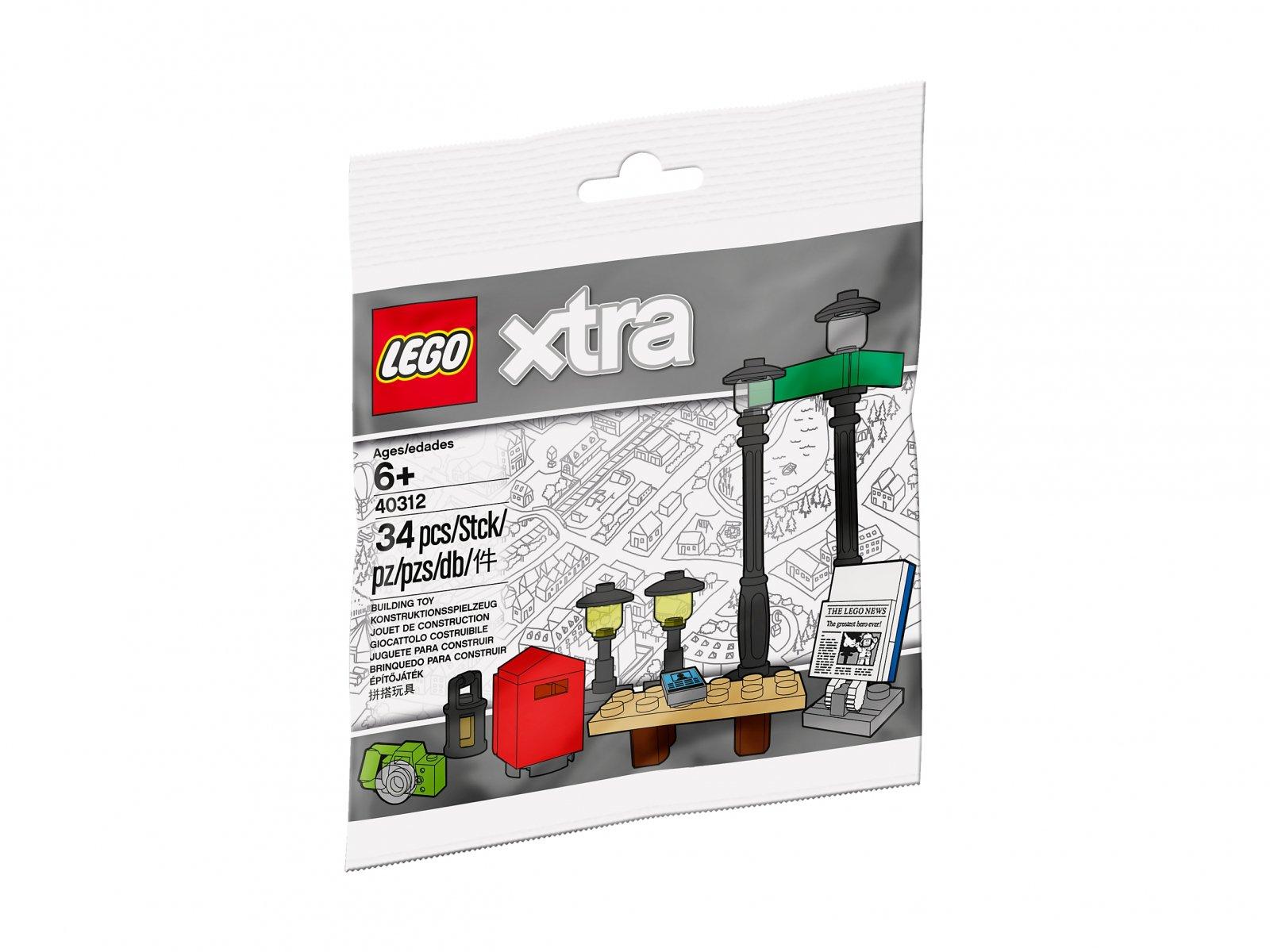 LEGO 40312 xtra Latarnie uliczne