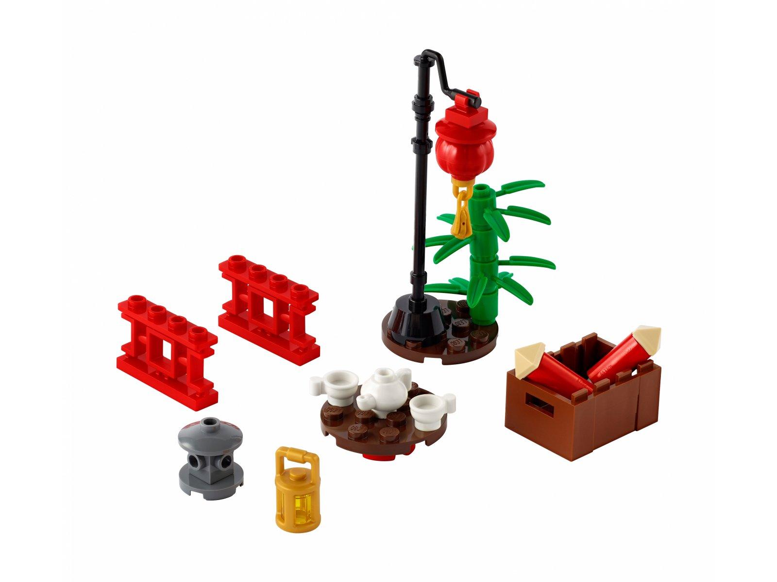 LEGO xtra 40464 Chińska dzielnica