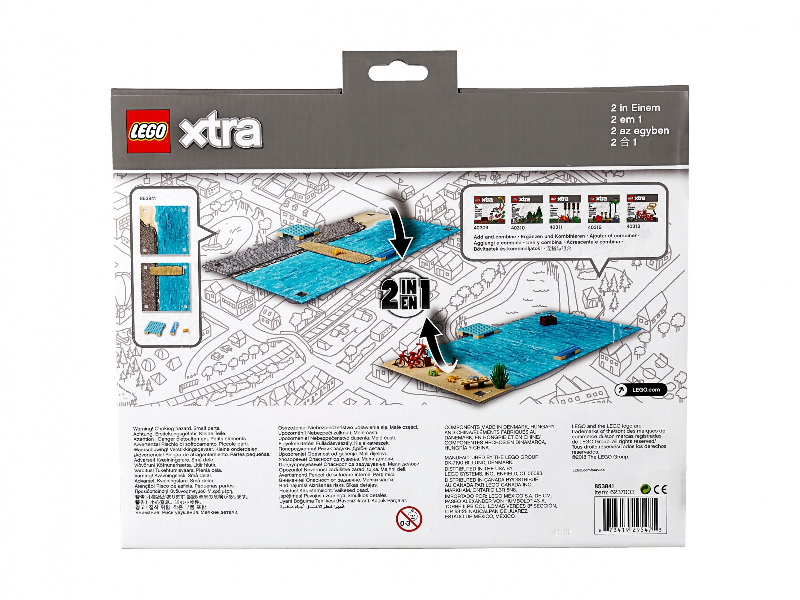 LEGO xtra 853841 Morska plansza
